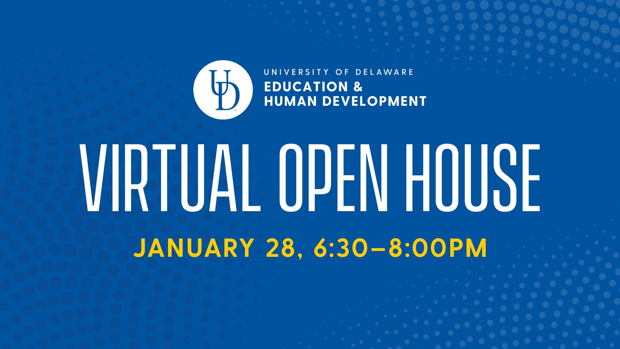 Virtual Open House on January 28, 2021